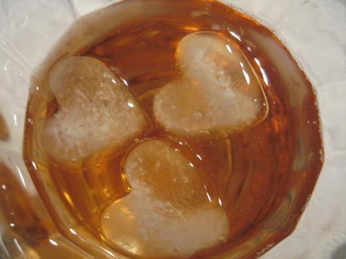 ハートの氷